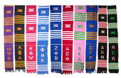 Regular Greek Kente Stoles