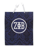 Gift Bag:  Zeta Phi Beta Large Gift  Bag  (SOLD IN SETS OF 2)