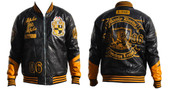 Jacket -  Alpha Phi Alpha PU Leather Jacket