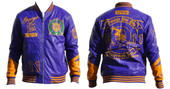 Jacket -  Omega Psi Phi PU Leather Jacket