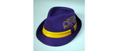 Headgear -  Omega Psi Phi Fedora Hat