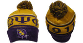 Head Gear  -  Omega Psi Phi Purple Rib Beanie