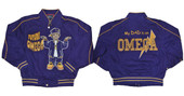 Jacket - Omega Psi Phi Kids Twill Jacket