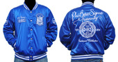 Jacket  - Phi Beta Sigma Satin Jacket  #1