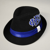 Headgear -  Phi Beta Sigma Fedora Hat