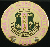 Jewel:  AKA FOUNDED YEAR CREST LAPEL PIN