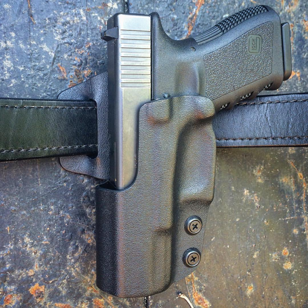 Custom Kydex Left Handed Holster, left handed holster, left hand holster, left hand kydex holster