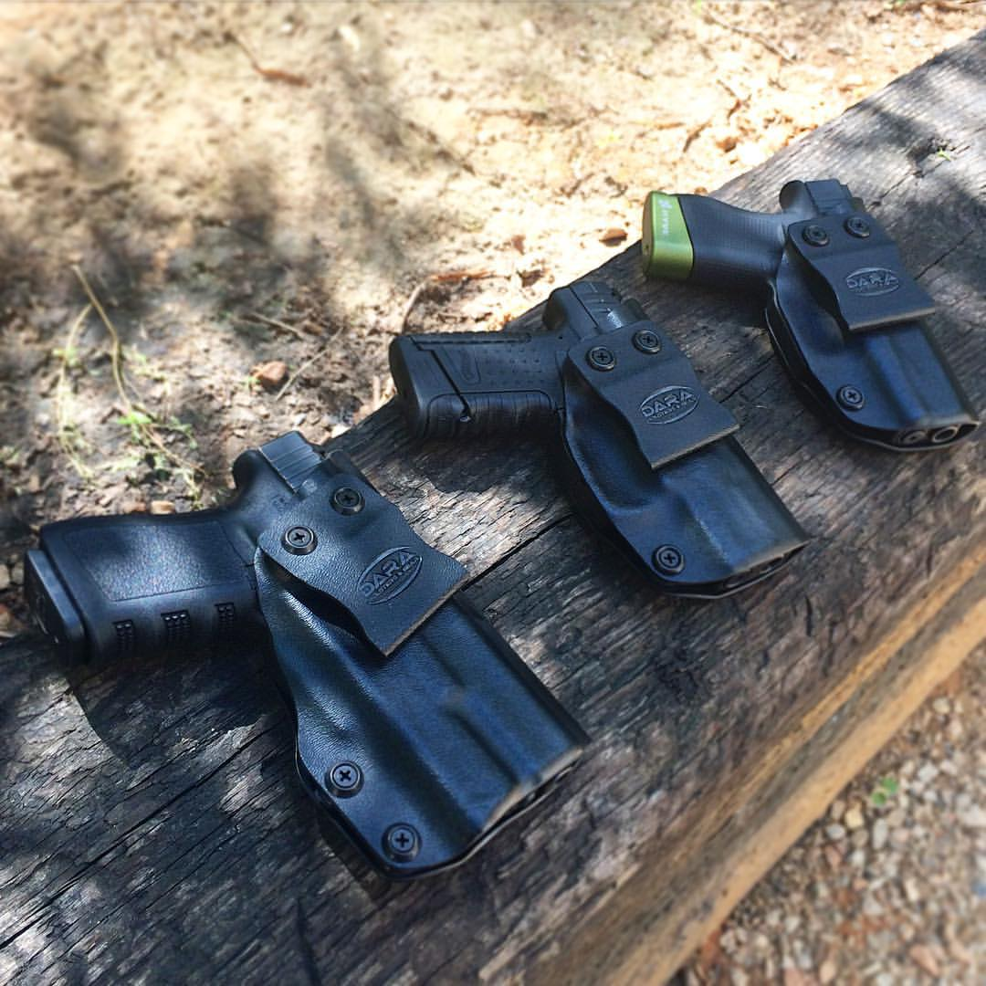 Glock 19 with XC-1 Holster, XDS IWB Holster nd Glock 43 IWB Holster, glock 19 with surefire xc-1 holster, iwb glock 19 holster, g43 holster, xds holster
