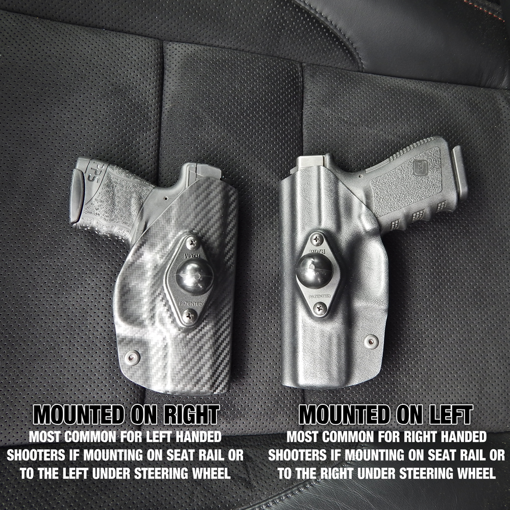 Mounted Holster for Vehicle