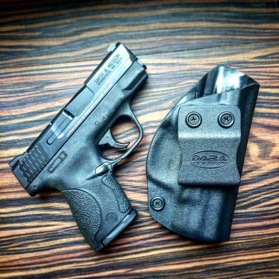 IWB Holster for the Smith and Wesson M&P Shield, Shield holster, m&p shield holster, ccw holster for shield