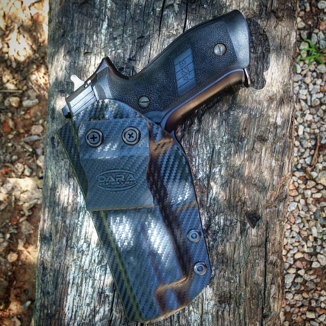 OWB Holster for the Sig Sauer P226, sig p226 holster, outside the waistband holster for the sig p226