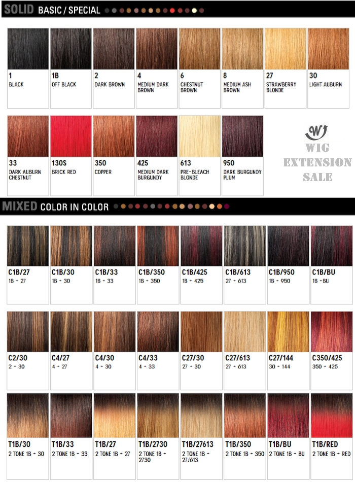 Yaki Hair Weave Color Chart Hair Extensions Richardson