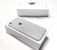 Mobile phone glitter skin