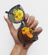 New 'Felix' cat eye style tortoise sunglasses