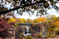 Paterson's Great Falls 11 x 14 framed/matted print