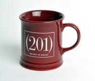 (201) Magazine Burgundy Mug