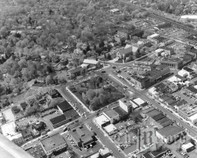 Aerial View 1 of Downtown Ridgewood, 1971