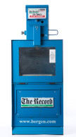 "Vintage ""The Record"" Newspaper Vending Machine"