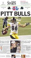 """Pitt Bulls"" 2006 Super Bowl Victory Sports Front Page Reprint"