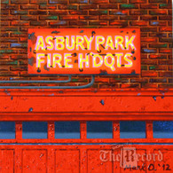 Asbury Park Fire Hdqts, Asbury Park, NJ, oil painting on linen (Artist: Mark Oberndorf)