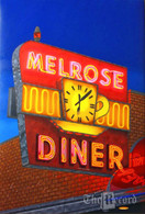 Melrose Diner, Philadelphia, PA, oil painting on linen (Artist: Mark Oberndorf)