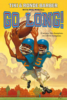 Go Long by Tiki Barber (signed by the author)