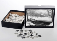 Winter's Pond in Mahwah, 1962, Jigsaw Puzzle