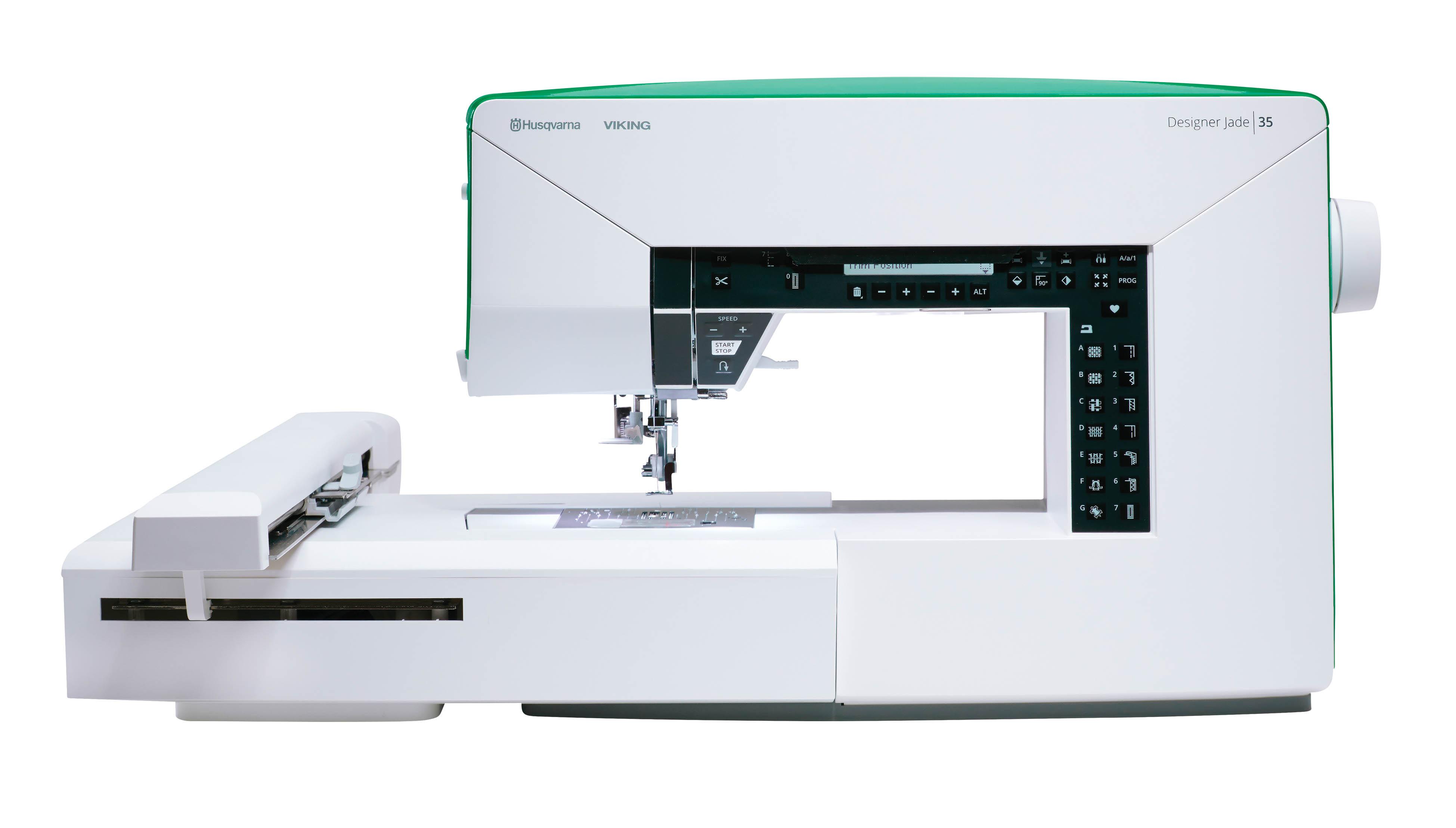 Designer Jade™│35 - S&R Sewing & Vacuum Center