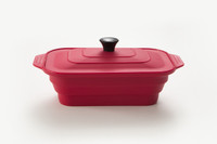 Large Rectangular Steamer - Shown in Red