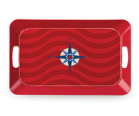 Serving Tray - Compass Rose