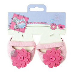Carte Blanche Me To You Tatty Teddy Pink Flower Shoes