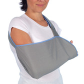 901 – Arm Sling – High quality, comfortable and breathable arm sling that fixes the arm in the desired resting position, providing excellent arm support.  Fits the left or right arm and is available in 4 Sizes – Small to Extra Large.
