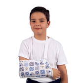 907 – Children's Arm Sling – High quality, comfortable and breathable arm sling that provides support and arm-repositioning for children following an arm injury