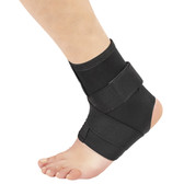 211 Cross Strap Ankle Brace with removable figure of 8 strap