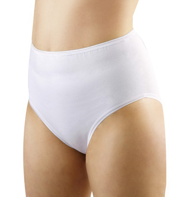 Ladies Stoma Cotton Support Briefs