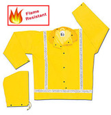 MCR Luminator 28 mm Yellow FR Raincoat Silver Stripes