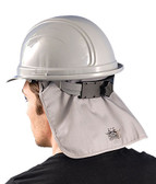 MiraCool Deluxe Flame Retardant (FR) Grey Hard Hat Pad