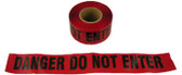 Allsafe SMC Barrior Tape, Danger Tape, Do Not Enter, Red