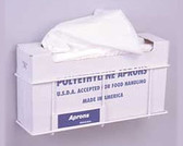 Apron Dispenser Rack, Vertical Packages