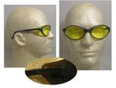 Uvex Bandit Safety Glasses, Blue Frame - Amber Lens