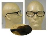 Uvex Bandit Safety Glasses, Blue Frame - Clear Lens