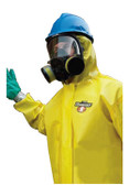 Chemmax 1 Coveralls Standard Suit with Zipper Front (25 per case)