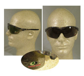 Crews Mossy Oak Series, Brown Lens Camouflage Safety Glasses