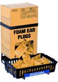 Foam Earplug Dispenser Box Rack w/Anti-spill Tray