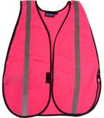 ERB Pink Safety Vests Silver Stripes