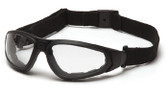 Pyramex XSG Sport Safety Glasses with Clear Lens