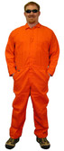 Nomex IIIA Coveralls - Orange Color - Sizes Small to 5XL