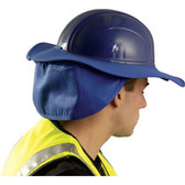 Occunomix #898-028 Safety Helmet Shade Blue