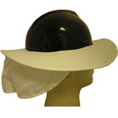 Occunomix #898-008 Safety Helmet Shade White