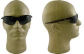 Jackson Nemesis Safety Glasses with Black Frame Smoke Lens
